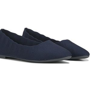 Sketcher Cleo Bewitched Memory Foam Navy Flats 7.5